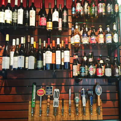 Best Beer and Wine Selection in Washington